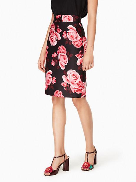 Kate Spade Rosa Pencil Skirt, Black - Size 0
