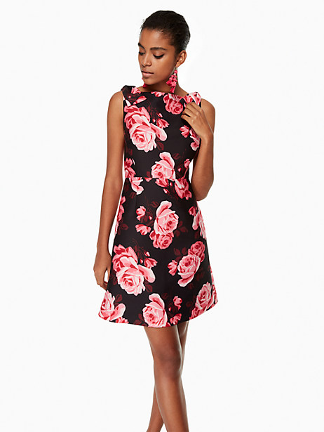 Kate Spade Rosa A-line Dress, Black - Size 2
