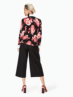 rosa lace trim cardigan by kate spade new york