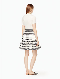 bea stripe didi skirt by kate spade new york