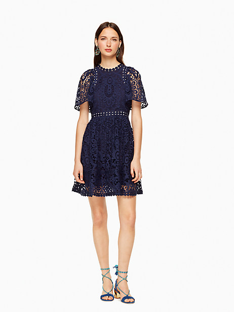 Kate Spade Trudie Dress, Deep Sea - Size 0