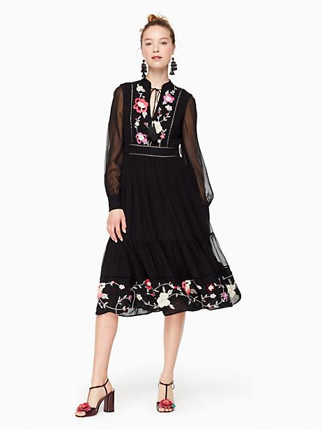Kate Spade Marigold Dress, Black - Size 0