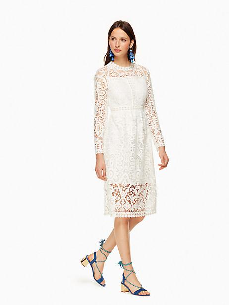 Kate Spade Lianne Dress, Cream - Size 0