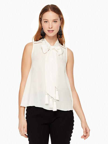 Kate Spade Misha Top, Cream - Size L