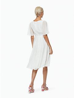 clipped chiffon dress by kate spade new york
