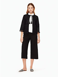 embroidered jacket by kate spade new york