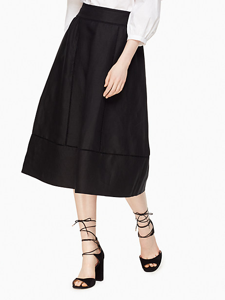 Kate Spade Leighton Skirt, Black - Size 0