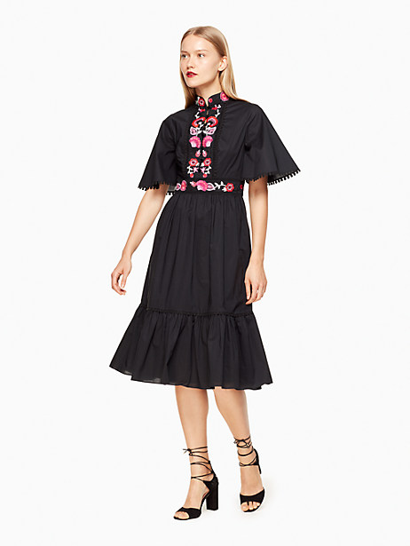 Kate Spade Nicole Dress, Black - Size 0