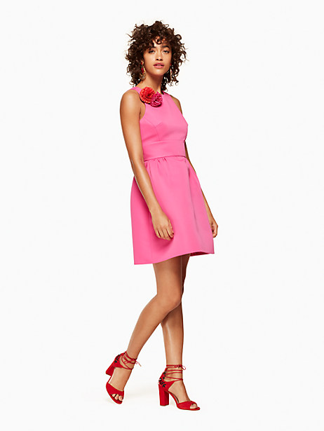 Kate Spade Carnation Fit And Flare Dress, Bougainvillea - Size 0