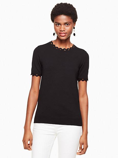 Kate Spade Ric Rac Sweater, Black - Size L
