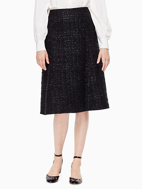 Kate Spade Paxton Skirt, Black - Size 16