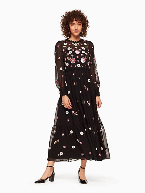 Kate Spade Larsa Dress, Black - Size 0
