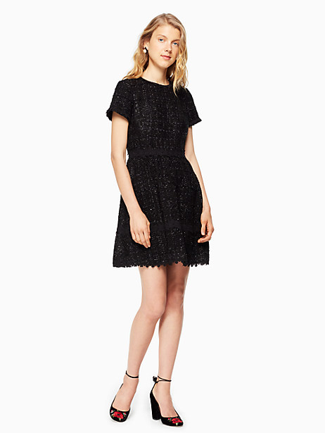 Kate Spade Jayne Dress, Black - Size 0