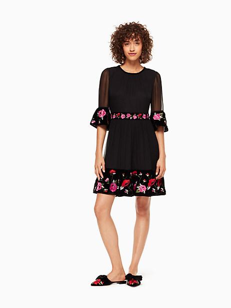 Kate Spade Lyssa Dress, Black - Size 0