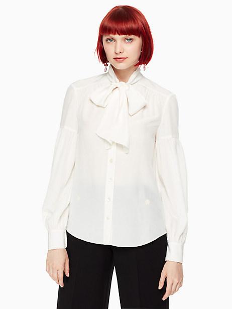 Kate Spade Myrah Top, Cream - Size L