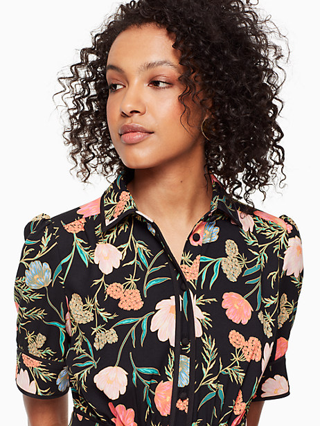blossom fluid shirtdress by kate spade new york