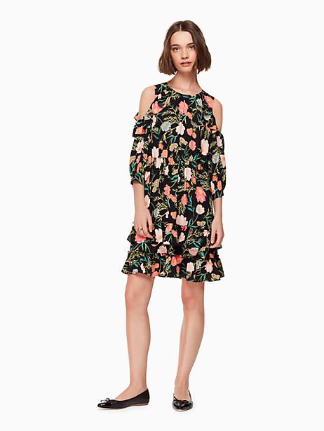 blossom cold shoulder dress by kate spade new york