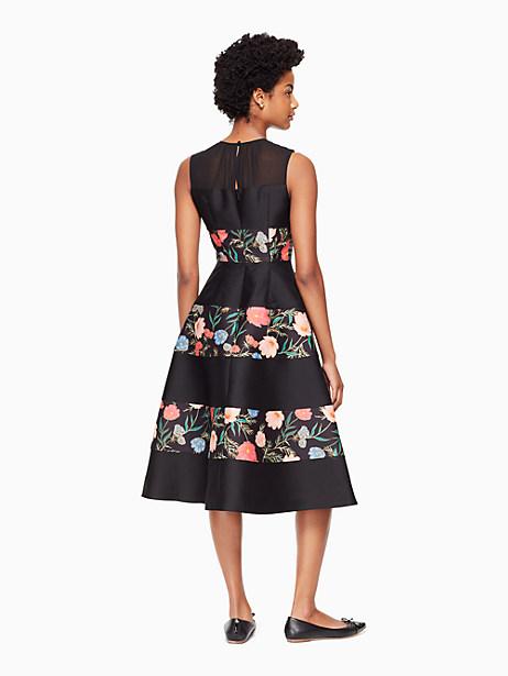 blossom mikado midi dress by kate spade new york