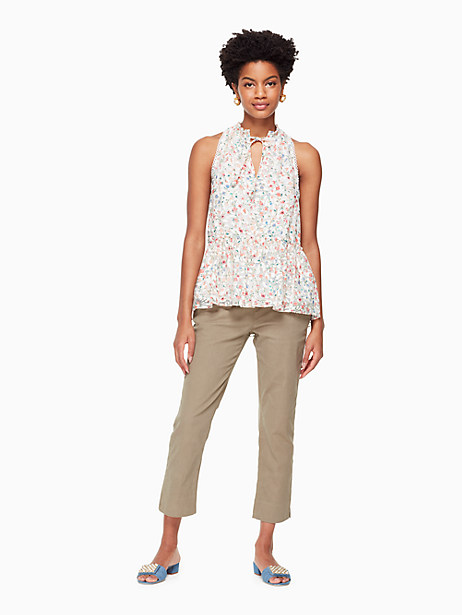 mini bloom burnout top by kate spade new york