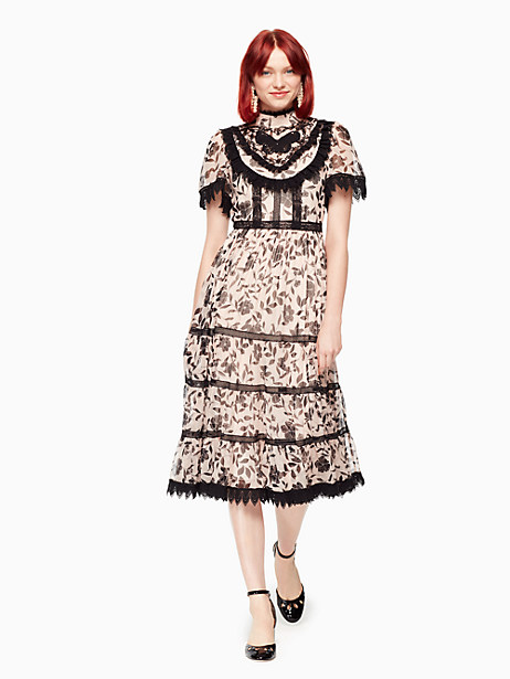 Kate Spade Fleur Genevie Dress, Cameo Pink - Size 4