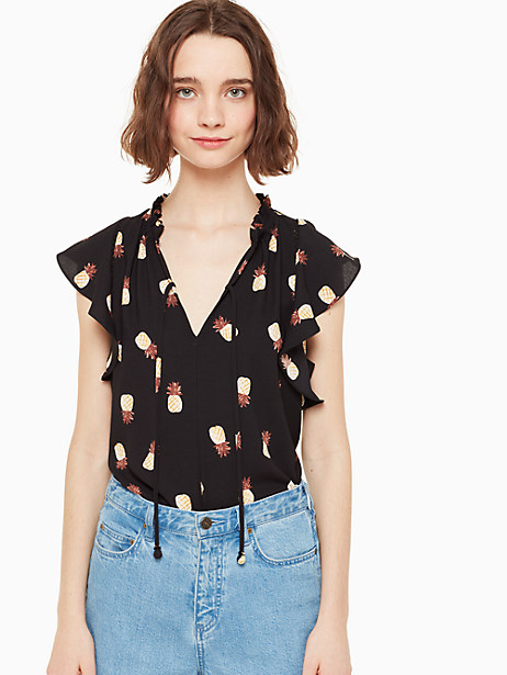 pineapple top by kate spade new york