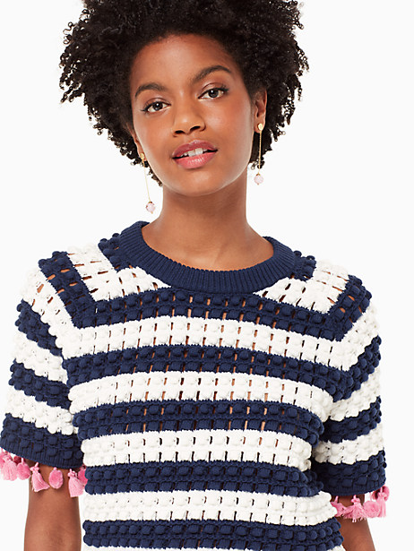 bauble short sleeve sweater by kate spade new york