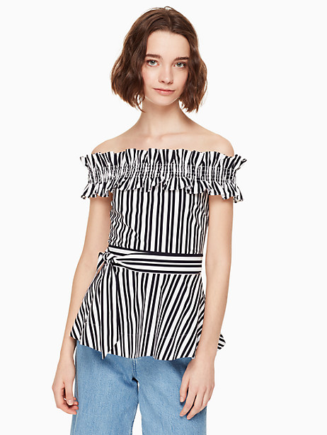 candy stripe top by kate spade new york