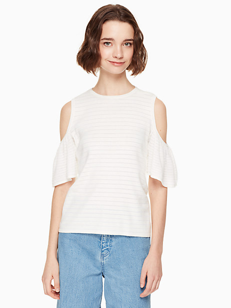 cold shoulder sweater by kate spade new york