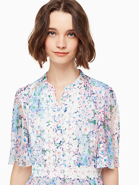 daisy garden midi dress by kate spade new york