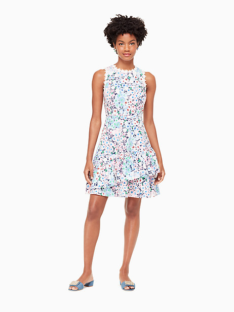 daisy garden poplin dress by kate spade new york