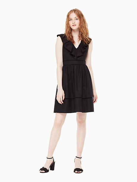 ruffle neck dress by kate spade new york