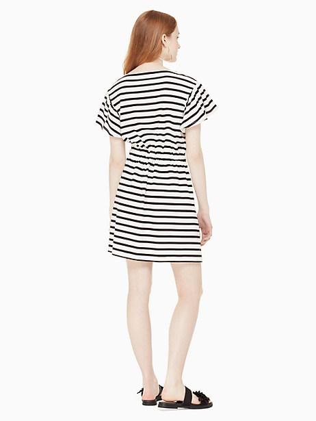stripe drop shoulder dress by kate spade new york