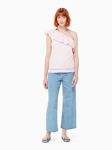 one-shoulder top by kate spade new york