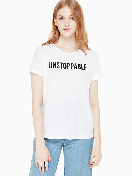 unstoppable tee by kate spade new york