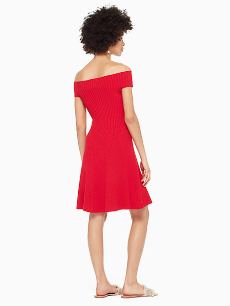 off the shoulder sweater dress by kate spade new york