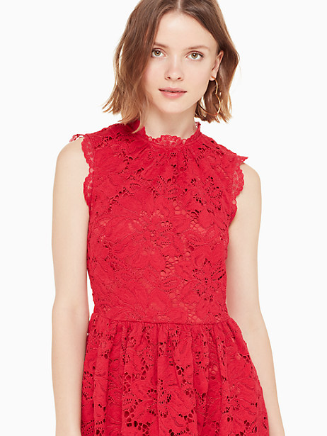 poppy field lace dress by kate spade new york