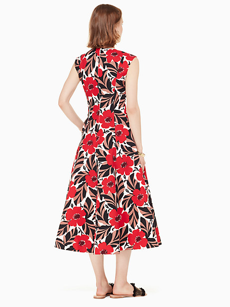 poppy field structured dress by kate spade new york