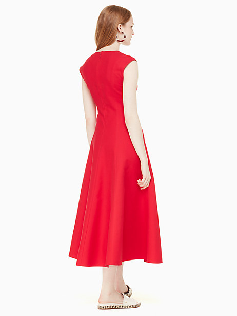 structured midi dress by kate spade new york