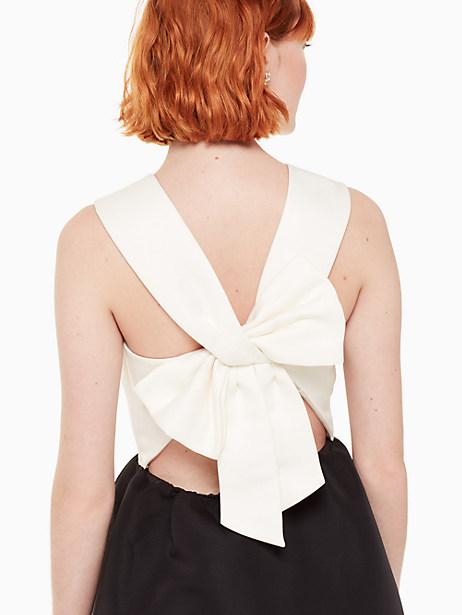 bow back mini dress by kate spade new york