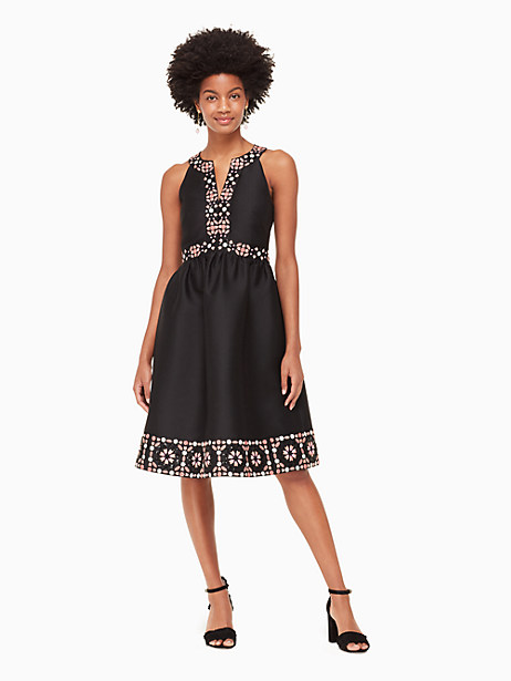 mosaic embellished midi dress by kate spade new york
