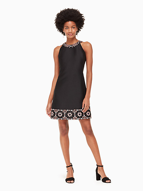 mosaic embellished shift dress by kate spade new york