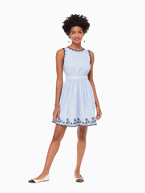 daisy embroidered mini dress by kate spade new york