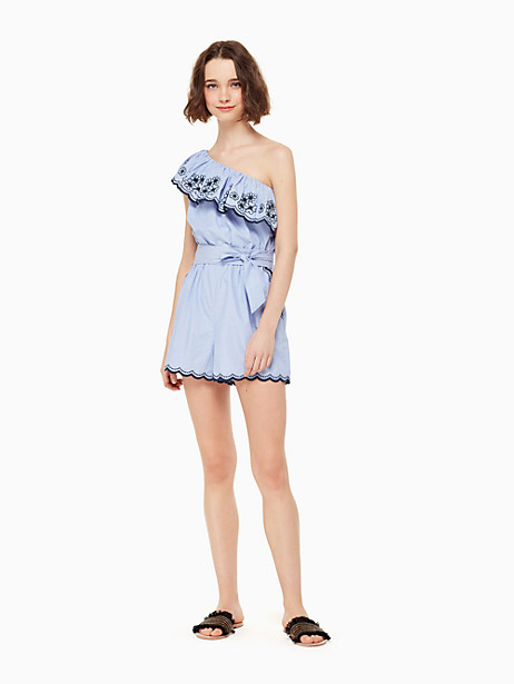 daisy embroidered romper by kate spade new york