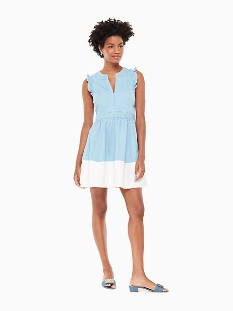 dip dye denim dress by kate spade new york