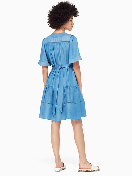 indigo railroad dress by kate spade new york