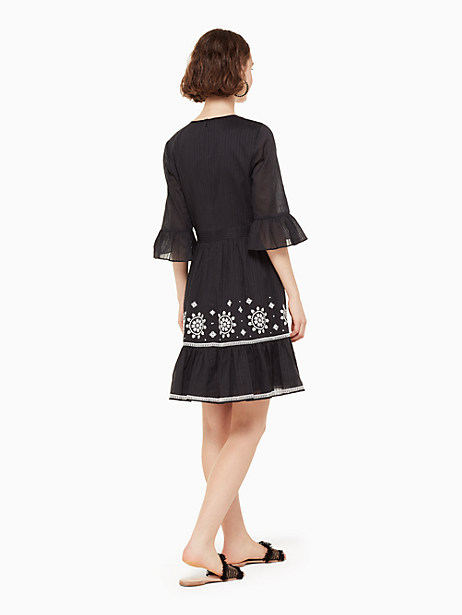 mosaic embroidered dress by kate spade new york