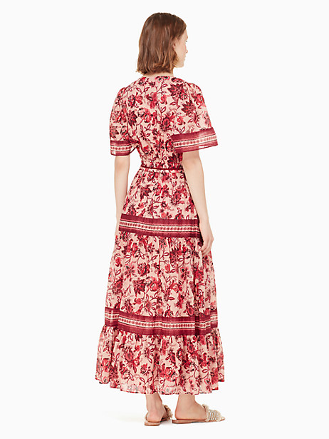 paisley blossom midi dress by kate spade new york