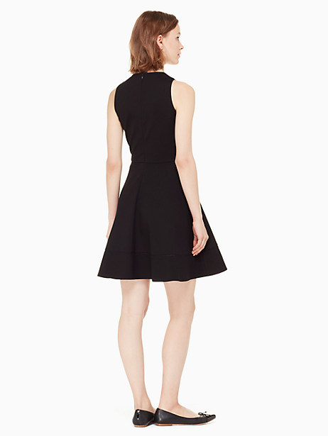 ponte fit and flare dress by kate spade new york
