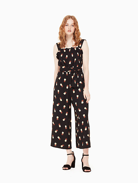 pineapple jumpsuit by kate spade new york