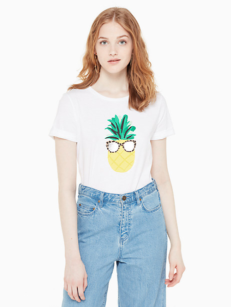 pineapple shades tee by kate spade new york